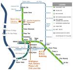 Skytrain map overview
