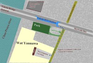 Wat Yannawa map