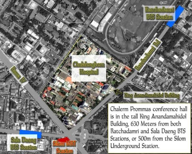 Chula Hospital Map