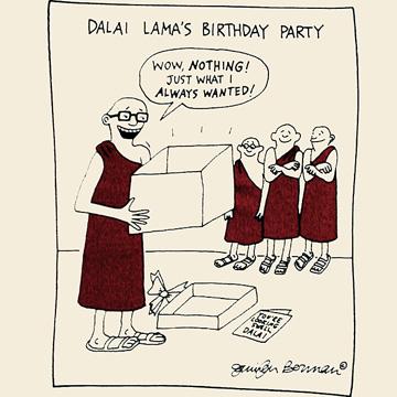 Monk's birthday