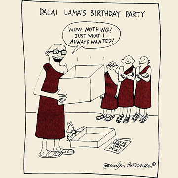 Monk's birthday