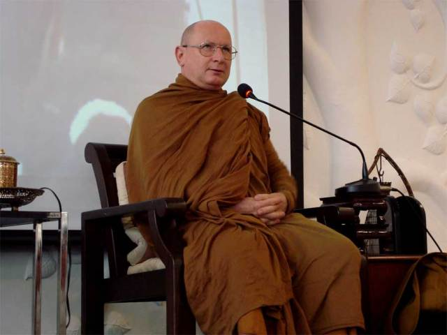 Ajahn Tiradhammo, monk for 35 years, abbot in NZ
