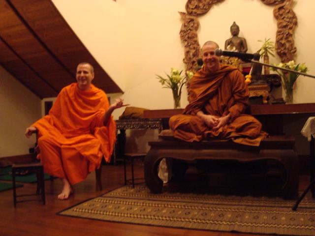 Phra Cittasamvaro and Ajahn Kusalo